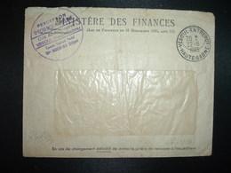 LETTRE PERCEPTION D'ECHEMOZ-la-MELME OBL.22-9 1965 VESOUL-ENTREPOT HAUTE--SAONE (70) - Marcophilie (Lettres)