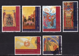 GREECE 2000 Ecumenical Patriarchate Complete Used Set  Vl. 2067 / 2072 - Griekenland