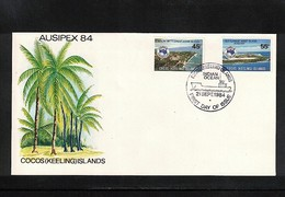Cocos ( Keeling) Islands 1984 Ausipex FDC - Kokosinseln (Keeling Islands)