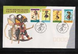 Cocos ( Keeling) Islands 1994 Shadow Puppets FDC - Kokosinseln (Keeling Islands)