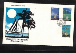 Cocos ( Keeling) Islands 1992 Indian Ocean FDC - Kokosinseln (Keeling Islands)