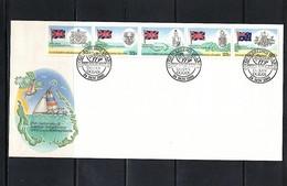 Cocos ( Keeling) Islands 1980 Australian Administration FDC - Kokosinseln (Keeling Islands)