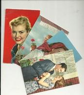 DONNE--LOTTO 4  CARTOLINE  MISTE    ANNI  50 - Cartoline