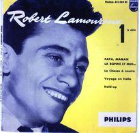 Disque De Robert Lamoureux - La Chasse à Courre - Philips 432.069 BE - 1956 - - Humor, Cabaret