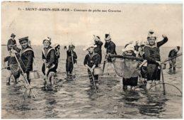 14 SAINT-AUBIN-sur-MER - Concours De Pêche Aux Crevettes - Saint Aubin