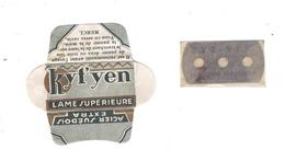 Lame De Rasoir Française KYT'YEN - KYT'YEN Safety Razor Blade Wrapper - Lames De Rasoir