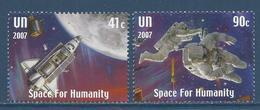 Nations Unies New York - YT N° 1054 Et 1055 - Neuf Sans Charnière - 2007 - New York – UN Headquarters