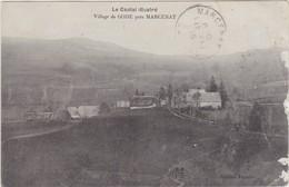 LE CANTAL ILLUSTRE VILLAGE DE GODE PRES MARCENAT - France