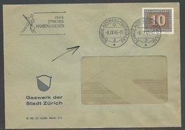 (1311) 1945 Sauberer Brief Mit Stempel Automobil Postbureau - Non Classés