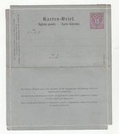 Austria Italy Croatia Postal Stationery Letter Card (Ital.-Illyr.) Karten Brief Biglietto Postale Not Travelled  B190601 - Ganzsachen
