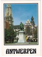 Antwerpen - Groenplaats - Standbeeld Rubens -  (Belgique/België) - Antwerpen