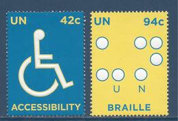 Nations Unies New York - YT N° 1075 Et 1076 - Neuf Sans Charnière - 2008 - New York – UN Headquarters