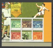 Togo MNH Sheet SUMMER OLYMPICS LONDON 1908-2012 - STAMP ON STAMP - Briefmarken Auf Briefmarken