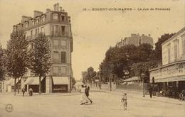 94) NOGENT-SUR-MARNE : Rue Fontenay (1910) - Nogent Sur Marne