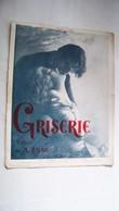 Partition Ancienne - Griserie -Valse De A. Bosc - édition De Luxe, Illustration - Classical
