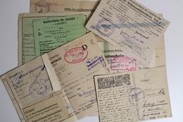 2. WK, Marschbefehl, Passier-, Urlaubsschein, Sonderausweis Usw, Partie - Deutschland