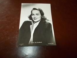 B726   Olivia De Havilland Non Viaggiata - Attori