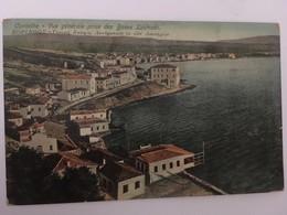 CPA, Grèce, Corinthe, Vue Générale Prise Des Bains Loutraki, écrite En 1916 - Grèce