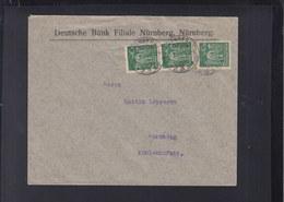 Dt. Reich Ortsbrief 1923 Nürnberg - Deutschland