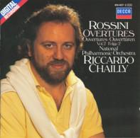 * LP *  ROSSINI - OVERTURES Vol.2 - RICCARDO CHAILLY / NATIONAL PHILHARMONIC ORCHESTRA (NL 1985 EX!!!) - Klassiekers