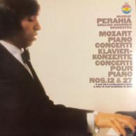 * LP *  MOZART PIANO CONCERTI No.12 & 27 - MURRAY PERAHIA On CBS Masterworks (Germany 1980 EX) - Klassiekers