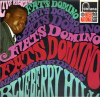 * LP *  FATS DOMINO - BLUEBERRY HILL LIVE (Holland 1967 EX!!! Rare) - Rock