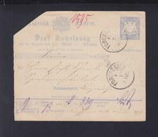 Bayern Postanweisung 1879 Forchheim - Bayern
