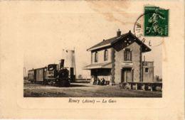 CPA ROUCY La Gare (860439) - France