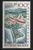 """Madagascar Aerien YT 87 (PA) """" Nossi-Bé """" 1962 Neuf** - Madagascar (1960-...)"""