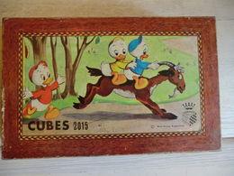 Boite De Cube En Bois Walt Disney - Group Games, Parlour Games