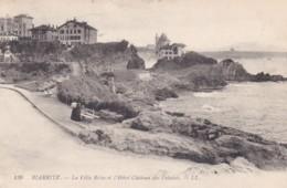 BIARRITZ - LA VILLA BELSA ET L'HOTEL CHATEAU  DES FALAISES - Biarritz