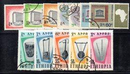 ETP128 - ETIOPIA ,  Annata 1962  Usata Priva Della Sola Serie Yvert N. 469/471 (2380A) - Etiopia