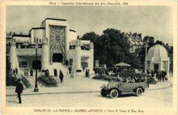 CPA PARIS EXPO 1925 Pavillon De La Maitrise Galeries Lafayette (860211) - Mostre