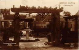 CPA PARIS EXPO 1925 Jardins (860212) - Mostre