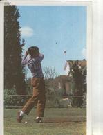 Postal 001631: Cromo Deporte: Golf - Cromos