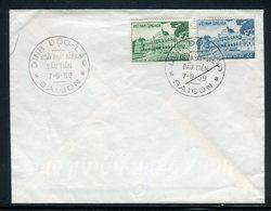 Viêt - Nam - Enveloppe  FDC De Saïgon En 1959 -  Réf M36 - Vietnam