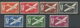 """Cameroun Aerien YT 12 à 18 (PA) """" Série De Londres """" 1942 Neuf** - Ungebraucht"""
