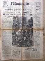 Journal L'Humanité (30 Oct 1972) Prix - Chili - Airbus - Viscount écrasé à Noirétable - Newspapers