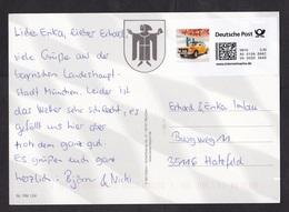 Germany: Picture Postcard, 2010, Self-printed Computer Internet Stamp, Internetmarke, BMW Oldtimer Car (traces Of Use) - [7] West-Duitsland