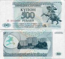 Transnistria  1993 - 500 Rublei - Pick 22 UNC - Andere
