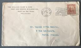 USA, Lettre De Philadelphie Pour Paris 1904 - (W1434) - Cartas