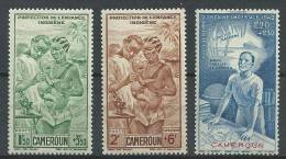 "Cameroun Aerien YT 19 à 21 (PA) "" Série Complète "" 1942 Neuf** - Ungebraucht"