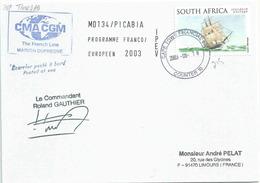 HMS Beagle - Darwin - Posté à Bord Du MD - Cape Town - 18/08/2003 - Afrique Du Sud (1961-...)