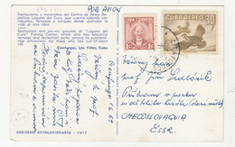 Cuba Cienfuegos, Las Villas Old Postcard Travelled 1969 To Czechoslovakia B190601 - Cuba