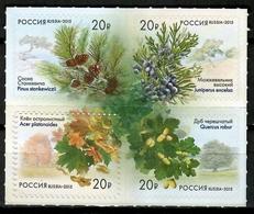 Russia 2015 Rusia / Trees MNH Árboles Bäume Arbres / Cu12132  41-35 - Árboles