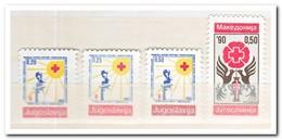 Joegoslavië 1990, Postfris MNH, Red Cross - Liefdadigheid