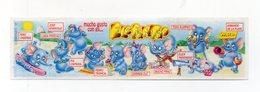 KINDER - 1997 - Cartina Serie ELEFANTAO - (FDC15623) - Istruzioni