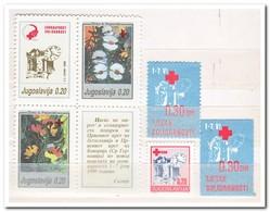 Joegoslavië 1990, Postfris MNH, Red Cross, Flowers - Liefdadigheid