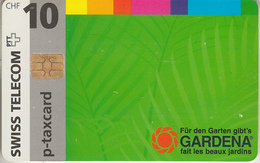 SUISSE - PHONE CARD - TAXCARD-PRIVÉE * CHIP ***  GARDENA *** - Schweiz