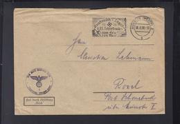 Dt. Reich  Dienstbrief Finanzamt Münster 1938 - Oficial